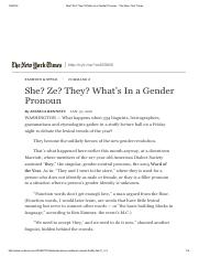 8- She_ Ze_ They_ What's In a Gender Pronoun - The New York Times.pdf