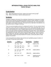 10. Qualitative Analysis of Cations-Spring 2015