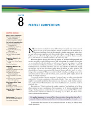8 - Perfect Competition