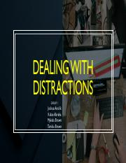 Group 1 Presentation on Distractions.pdf