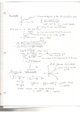 Notes on Arc Length with In-Class Example
