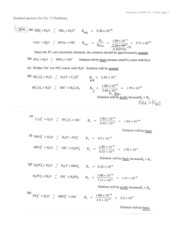 Answers to Probs Ch. 13