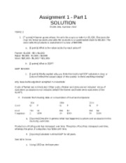Assignment1-Part1Solution