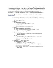 Scandinavian Essay topics
