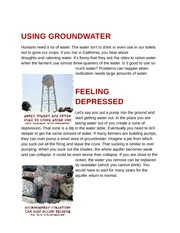 USING GROUNDWATER