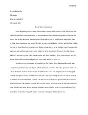 Paradise lost essay word