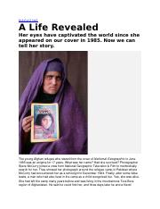 a life revealed article.docx