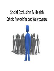Social Exclusion and Newcomers (1).pdf