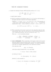 MATH 401 Homework 8 Solution
