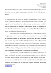 English 100 - Example essay