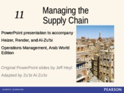 Ch11_heizer_Managing the Supply Chain