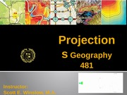 week 3 - projections, coordinate systems and datums