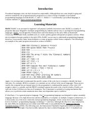 Intellipath 1- Problem  Solving Programming Concepts-Procedural Intro to Procedural Logic.docx
