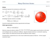 Lecture_11 Many-Electron Atoms