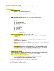 Chapter 1 Lecture Outline-for Students (2)