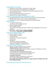 Cognitive Science Notes 4