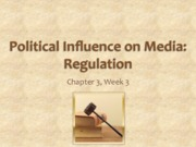 Chapter 3 Political Influence on Media