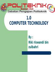 Chapter 1 Computer Technology.ppt