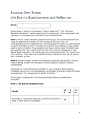 Reflection_LifeEventsQuestionnaire