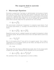Lecture 13 on Mathematical Methods 1