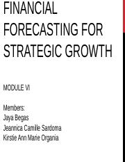Module-6-Financial Forecasting.pptx
