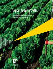 EY - Appetite for growth