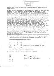 [Busch] Chemistry Exam #4 - Fall 2006
