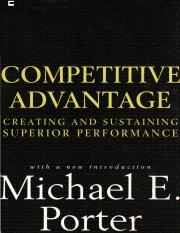Competitive strategy - The core concepts - Chapter 1 - Michael Porter.pdf