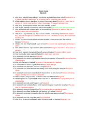 Copy of Study Guide