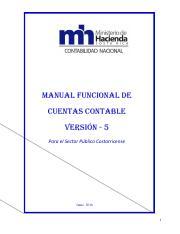 Cuentas Mh Pdf Manual Funcional De Cuentas Contable