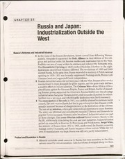 10th grade world history Russia and Japan