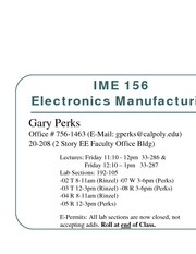 Intro - Microsystems Packaging-Ch1