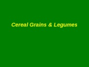 2009 Cereals, Grains, Legumes (1)
