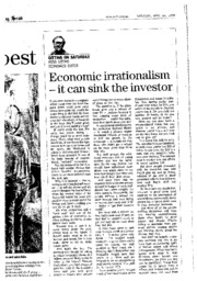 Gittins_Econ irrationalism_SMH_19990424