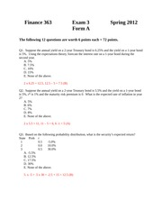 Form 3-A and C solutions