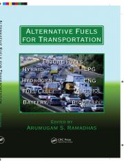 (Mechanical and Aerospace Engineering Series) Ramadhas, A S-Alternative Fuels for Transportation-CRC