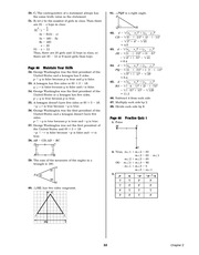 Pre-Calculus Homework Solutions 31