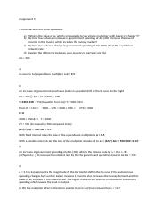 Macro Economics 203 ECO asm3 question 2