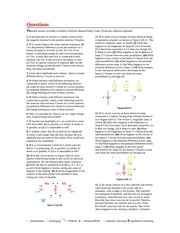 Physics for Scientists and Engineers 8ed - ch28 - end of chapter questions