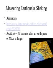 2_Measuring Earthquake Shaking_student2014
