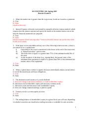 Practice exam 3 with solution
