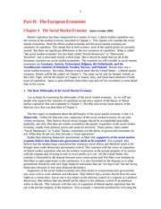 Economics 110 Chapter 4 The Social Market Economy