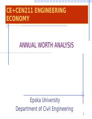 Chapter 5- Annual Worth Analysis.pptx