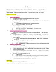Ch. 18 Notes