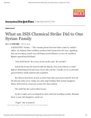 What an ISIS Chemical Strike Did to One Syrian Family - The New York Times.pdf