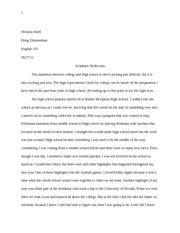 write epilogue essay