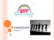 PSY BEH 173S: Friendship Lecture (Zinger)