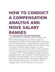HOW TO CONDUCT A COMPENSATION ANALYSIS AND MOVE SALARY RANGES.docx