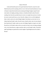 essay about the great gatsby death results from a dream in the  1 pages analysis of beowulf