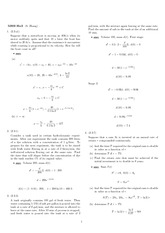 Homework 2 Solution Winter 2008 on Ordinary Differential Equations
